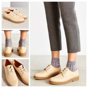 Urban Outfitters Natural Walter Leather Oxfords